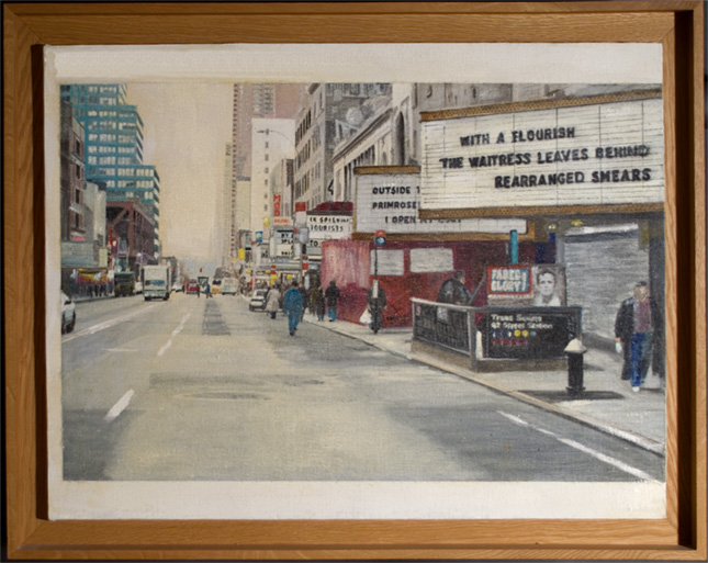 42nd Street West 35x28 inches
